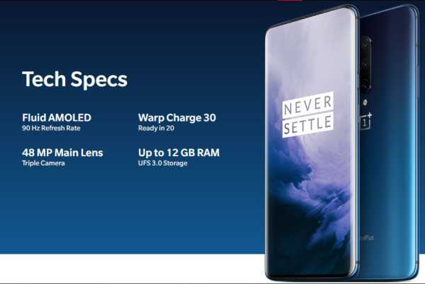 OnePlus 7 Pro Specification and Feature highlight