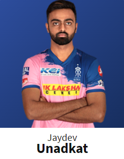 RR IPL 2020 Squad Player List