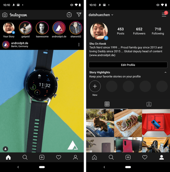 How to Activate Dark Mode in Instagram on Andorid